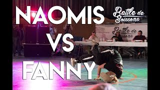 Naomis vs Fanny - 1/4 final Bgirl - Battle de Soissons - 2018