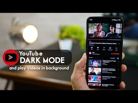 Get YouTube Dark Theme Mode And Play Videos In Background (no Root)