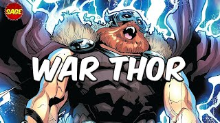 Who is Marvel's War Thor? Fury of an ENTIRE Universe!