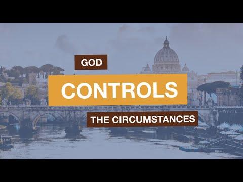 God controls the circumstances (Luke 2:1-6)