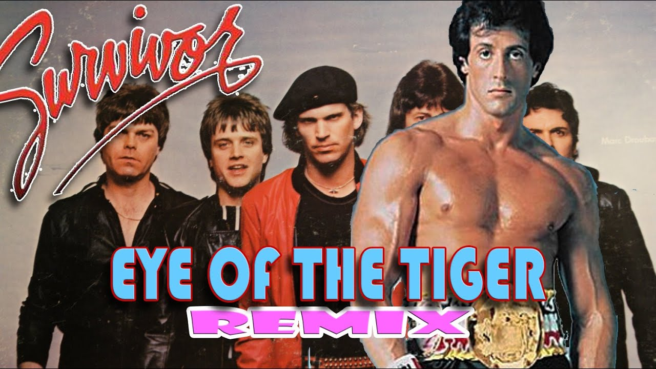 Eye of the tiger rocky gif