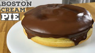 Boston Cream Pie Recipe | Just Cook!