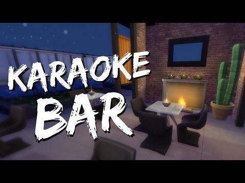 THE SIMS 4 SPEED BUILD - Karaoke Bar