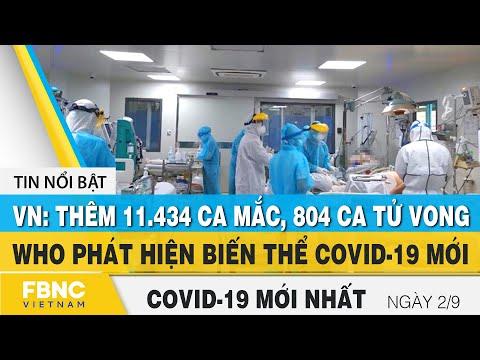 Tin tức Covid-19 mới nhất hôm nay 2/9 | Dich Virus Corona Việt Nam hôm nay | FBNC