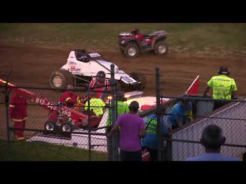 Sprint Car A Main at Lincoln Park Speedway