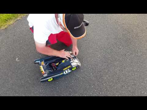 German RC Speed Challenge 18.06.17 Picco Integra 184.1 Kmh. Jean Claude Müller.