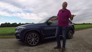 2018 BMW X3 - First Drive Test Video Review