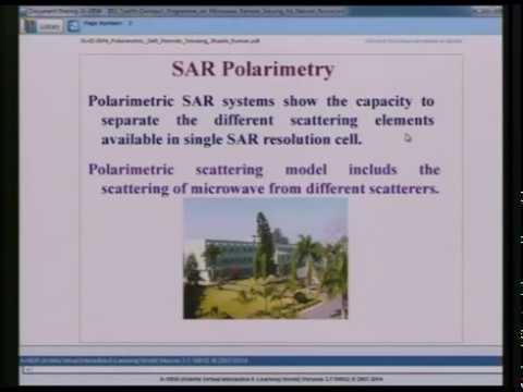 Polarimetric SAR Remote Sensing