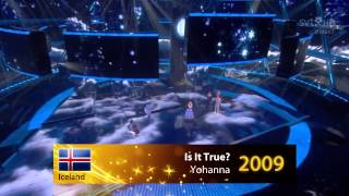 Eurovision Song Contest 2004-2013 - Best song from each country in my opinion