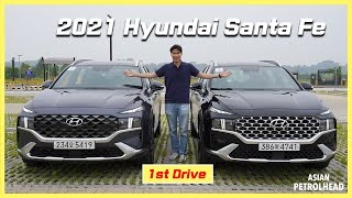[World Premiere] FIRST DRIVE -2021 Hyundai Santa Fe is HERE! Better than your 2020 Hyundai Santa Fe?