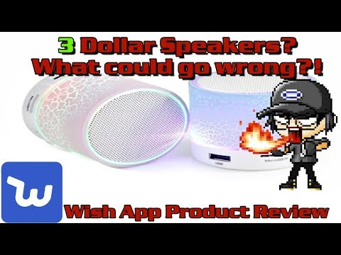 Review: A $3 bluetooth speaker? What could go wrong?!