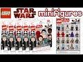 LEGO Star Wars Collectible Minifigures The Last Jedi Custom Series mp3