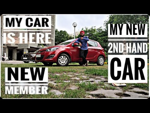 My Car is here | Buying Used Car Experience | Hyundi i20 Petrol | old shape | 2013 Model | GsFilms |