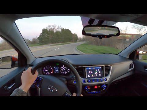 2020 Hyundai Accent Limited - POV Driving Impressions