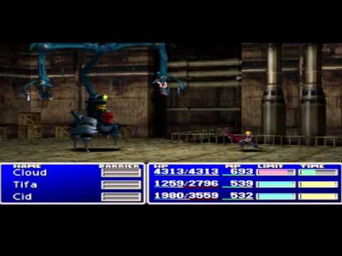 Final fantasy 7 playthrough part 26 getting a submarine and exploring under the sea