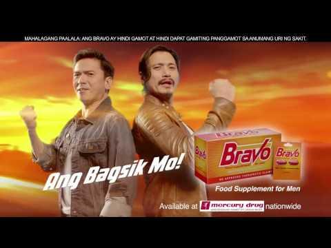 Bravo Food Supplement for Men TVC 2016 - Jenna Ortega