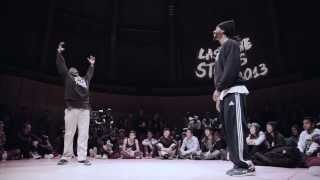 Last One Stands 2013 Hip-Hop Final: BEN WICHERT(Germany) VS JUNIOR BOOGIE(Canada)