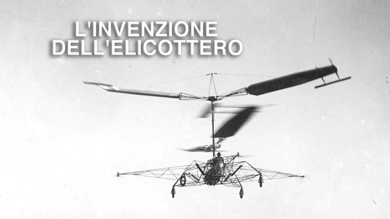 L' invenzione dell'elicottero