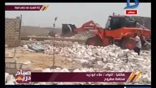 اللواء علاء أبوزيد يكشف تفاصيل ازالة التعديات بمطروح تنفيذا لأوامر الرئيس مؤكدا: القبائل تحمي الأرض