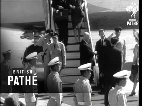Eisenhower Tour Of The Orient (1960)