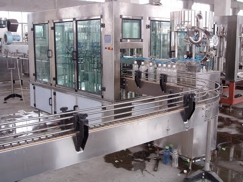 Small water bottling production line, mineral water bottling machine, water bottling plant