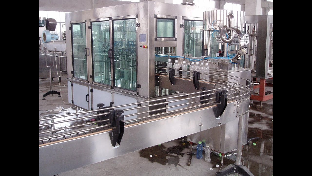 Small Water Bottling Production Line Mineral Water