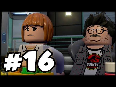 LEGO Jurassic World - PART 16 - Chris Pratt! (Gameplay Walkthrough HD)
