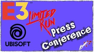 E3 2018   Limited run Games & Ubisoft   Press Conference
