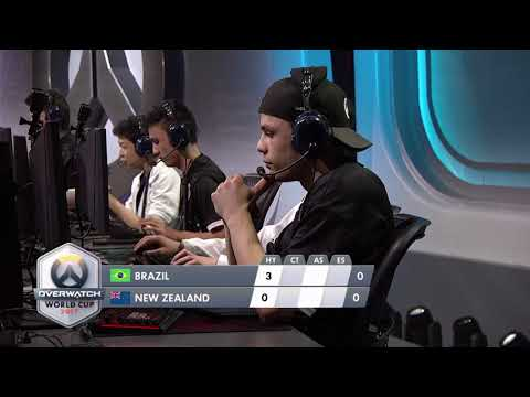 Brazil vs New Zealand | Los Angeles Group Stage | Overwatch World Cup