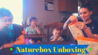Naturebox Unboxing and Taste Test | December 2016 | Semi Crunchy Mama