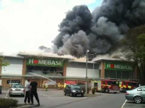 Aylesford homebase burns down