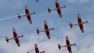 RIAT Air Show England 2018 -  Swiss Air Force Pilatus PC-7  Team