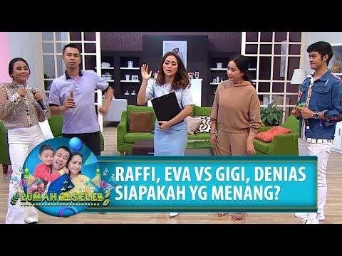 KUIS DANGDUT! Gigi Dan Denias VS Raffi Dan Eva Puka - Rumah Seleb (23/8) PART 5