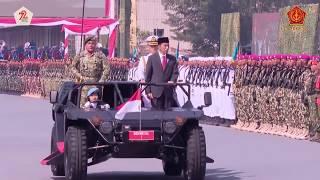 INDONESIA HELL MARCH 2018 President Jokowi's Formidable Indonesia (INDONESIA HEBAT)