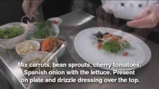 Grilled Lemon Grass Chicken Salad