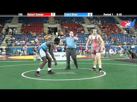 Fargo 2012 195 Round 1: Robert Enmon (Florida) Vs. Evans Saso (New Jersey)