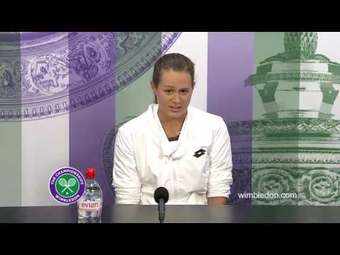 Jana Cepelova second round press conference