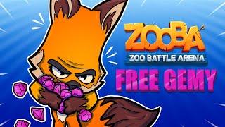 POGROMCY MITÓW W ZOOBIE! - DARMOWE GEMY!   - ZOOBA - Zoo battle arena!