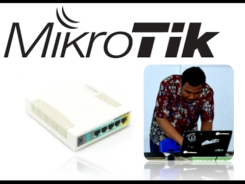 Belajar konfigurasi Mikrotik DHCP Client + Server + Hotspot