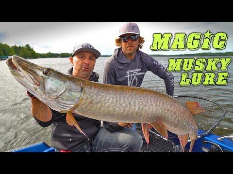 MAGIC Musky Lure!? - Lake Vermilion Day 2