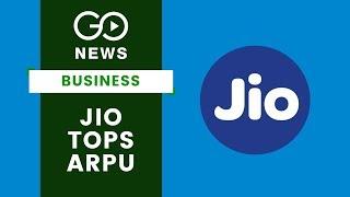 Jio Tops ARPU Charts