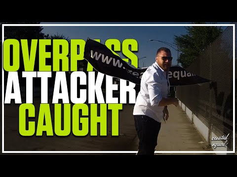 Created Equal Attacked! (POLICE FOOTAGE) Operation Overpass Confrontation