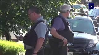 مقتل خمسة اشخاص في هجوم على إحدى صحف أنابوليس في ولاية  ماريلاند الأمريكية - (29-6-2018)
