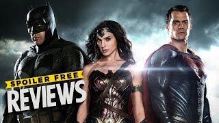 Batman v Superman Dawn of Justice Spoiler Free Review