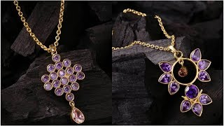 Latest Pendant Necklace Designs | Pendant Necklace Designs