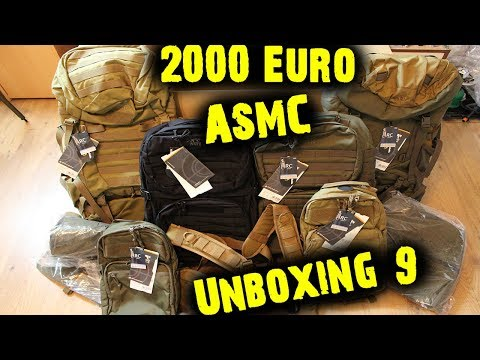 ASMC UNBOXING 9 | 2000€ ASMC UNBOXING! | HD+ | Weaponized
