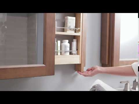 Vanity Mirror With Side Pullouts You, Pull Out Bathroom Mirror