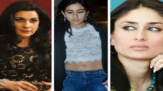 Amrita Singh feels Kareena Kapoor has a BAD INFLUENCE on her daughter Sara Ali Khan