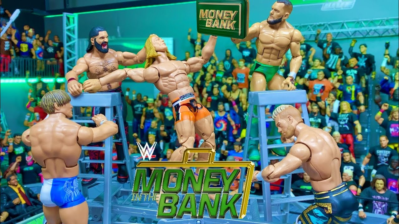 GCW Money in the Bank 2021 Full Show (WWE ACTION FIGURE MATCH)