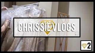 CHRISSIE VLOGS - BRIDESMAID'S DRESSES!